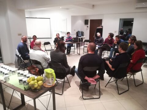 Mentor session in Bulgaria